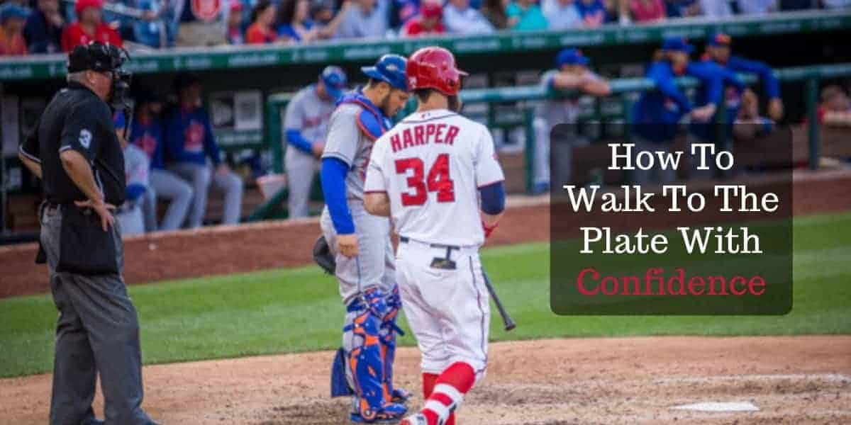 Youth Baseball Advice: How To Walk To The Plate With Confidence