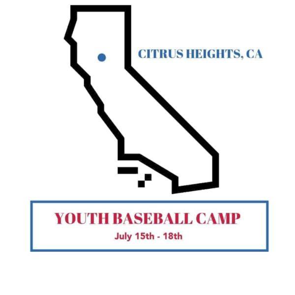 Citrus Heights CA Page Summer Baseball Camp 2019-min