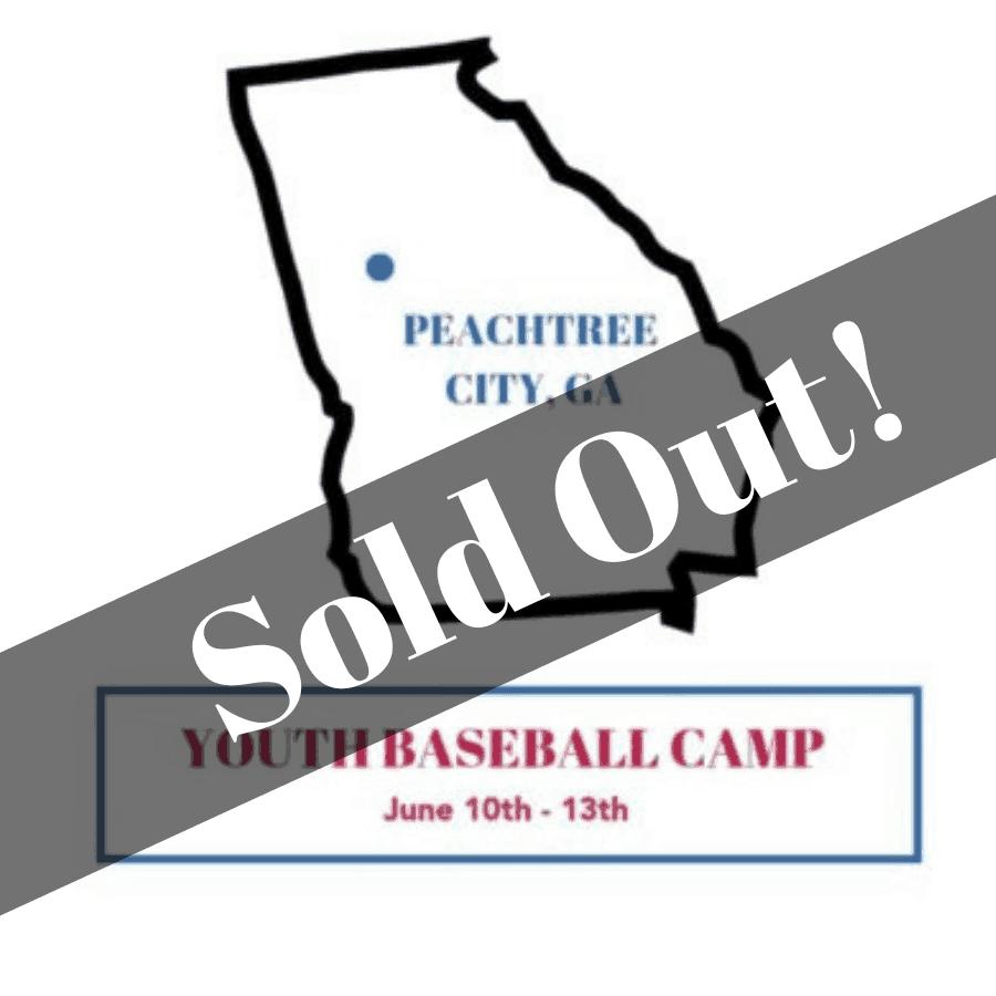 Peachtree City, GA Summer Baseball Camp June 10th-13th
