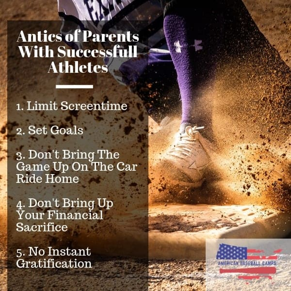 Antics of Parents With Successful Athletes | American Baseball Camps