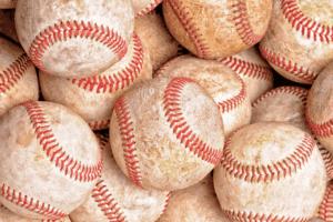 Baseball pile