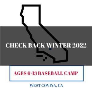 West Covina CA baseball camps