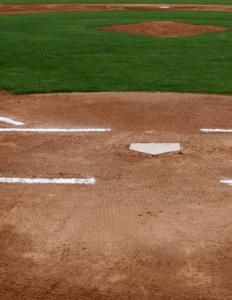 baseball field infield