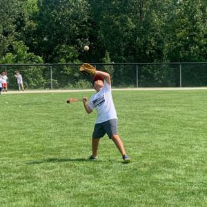Youth Baseball Camp Catch